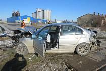 Nehoda vypadala hrozivě. Řidič ale vyvázl bez jakýchkoliv zranění.