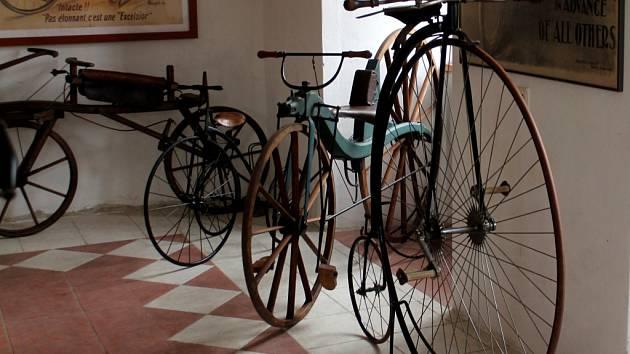 Již šestého června poprvé otevře nově zřízené muzeum unikátní expozici mapující historii cyklistiky.
