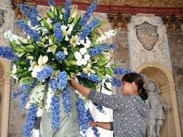 Vranovský zámek provoněly lilie.