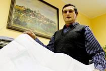 Čtyřiapadesátiletý starosta Citonic František Molík je služebně nejstarším zastupitelem v obci, kterou vede.