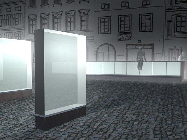 Vizualizace nové podoby Horního náměstí ve Znojmě
