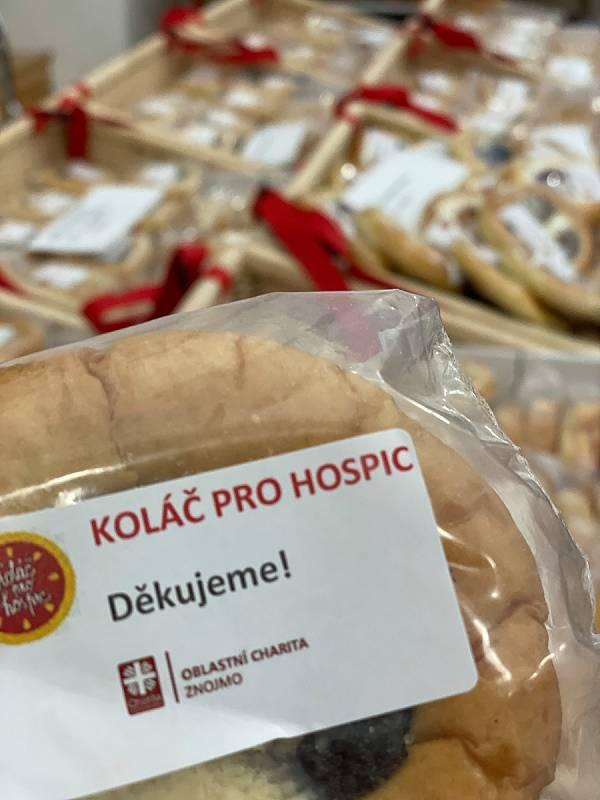 Z letošní sbírky Koláč pro hospic ve Znojmě a Moravském Krumlově.