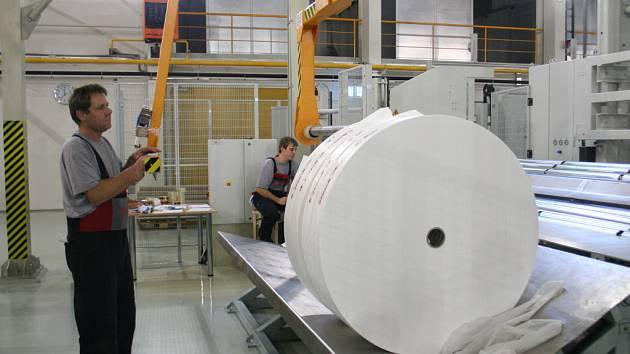 Výrobní linka společnosti Pegas.