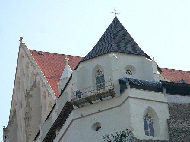Kaple svatého Václava ve Znojmě.