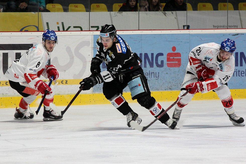Hokejoví Orli hráli v rámci 23. kola mezinárodní ligy EBEL proti Innsbrucku.