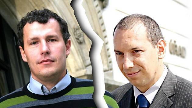 Znojemský starosta Vlastimil Gabrhel obviňuje jevišovického starostu Pavla Málka z toho, že nedodal slíbené vyjádření úřadů.