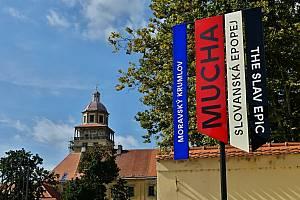 Z návštěvy expozice Slovanské epopeje v Moravském Krumlově.