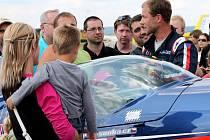Martin Šonka, pilot světové série Red Bull Air Race, člen reprezentace České republiky v letecké akrobacii kategorie unlimited a vojenský pilot letounu JAS-39 Gripen.