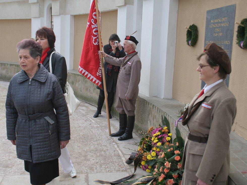 Připomínka výročí únorových událostí roku 1948