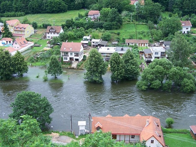 Vranov nad Dyjí, červenec 2006.