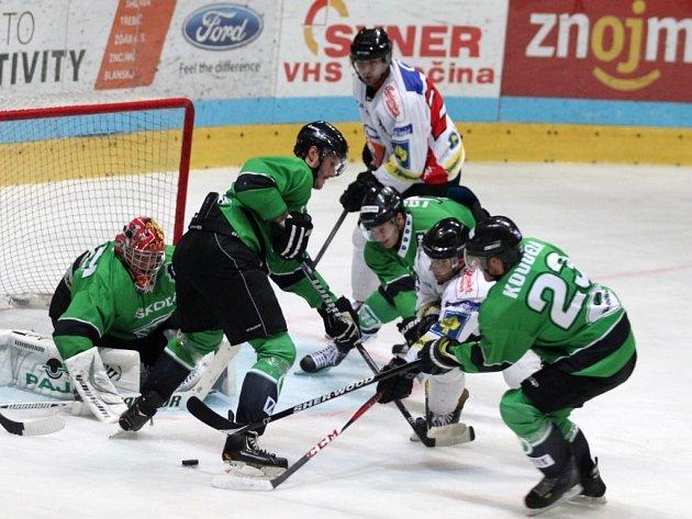¨Znojemští hokejisté sehráli první přípravné utkání proti Mladé Boleslavi