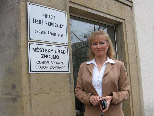Policejní mluvčí Lenka Drahokoupilová