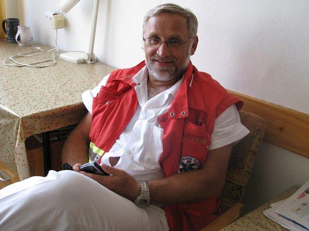 Záchranář a potapěč Arnošt Růžička