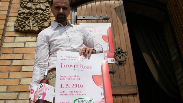 Dobšický vinař Jiří Hort získal letos cenu přehlídky Jarovín Rosé za nejlepší kolekci růžových vín.