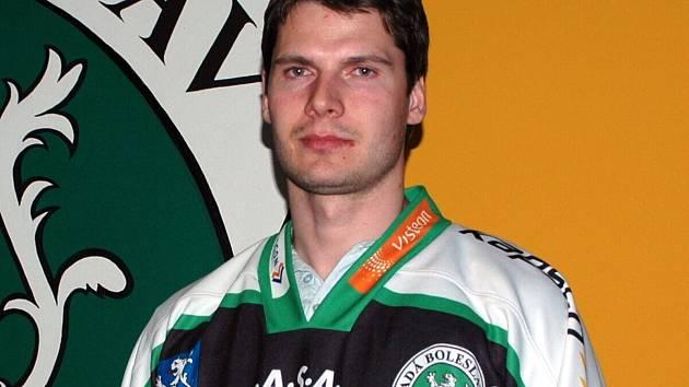 Hokejový útočník Roman Tomas.
