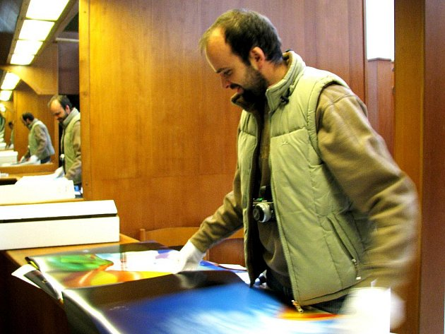 Zdeněk Dvořák přichystal výstavu ve Žluté ponorce.