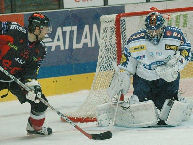Znojemští hokejisté si vyšlápli na rozjetou Plzeň