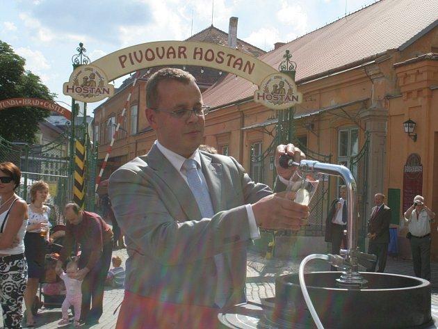 Slavnosti piva Hostan 2008