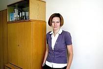 Sociální kurátorka Marie Bartošková.