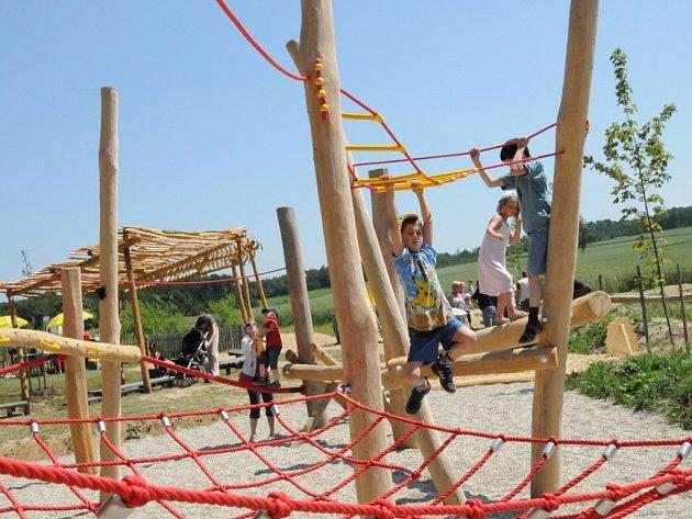 U návštěvnické centra Národního parku Thayatal nedaleko rakouského Hardeggu otevřeli nový dětský park.