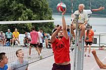 Na šedesát týmu se poslední červencový víkend účastnilo 50. ročníku volejbalového turnaje Vranovské léto.
