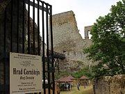 Zřícenina hradu Cornštejn. Ilustrační foto.