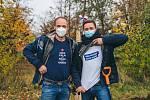 V Šatově zasadili Alej svobody. Foto:Tomáš Kalous