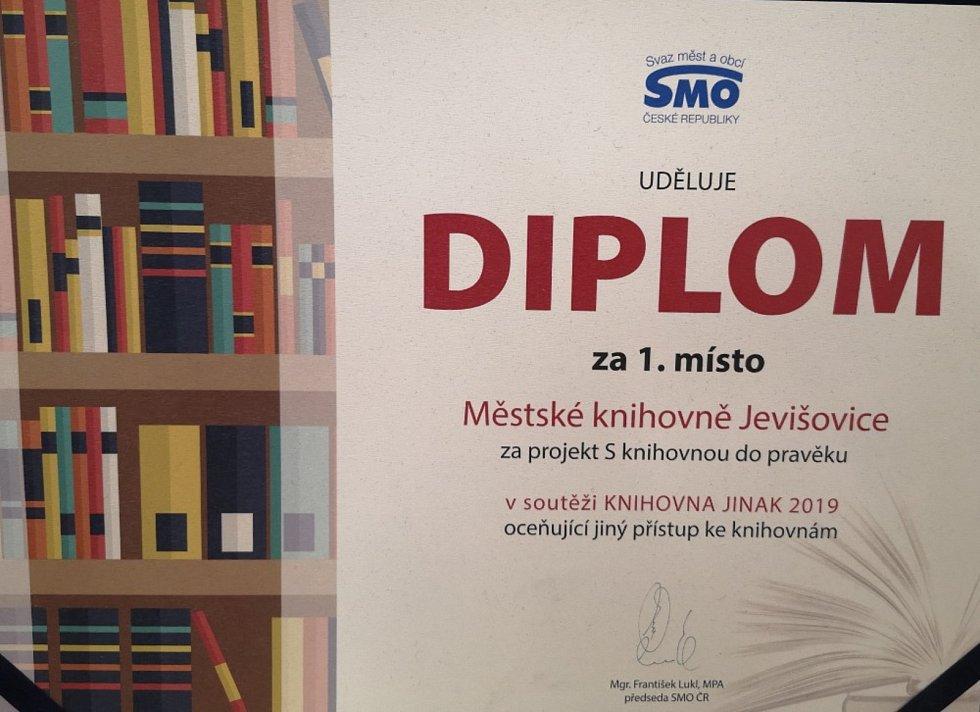 Jevišovická knihovna získala řadu ocenění.
