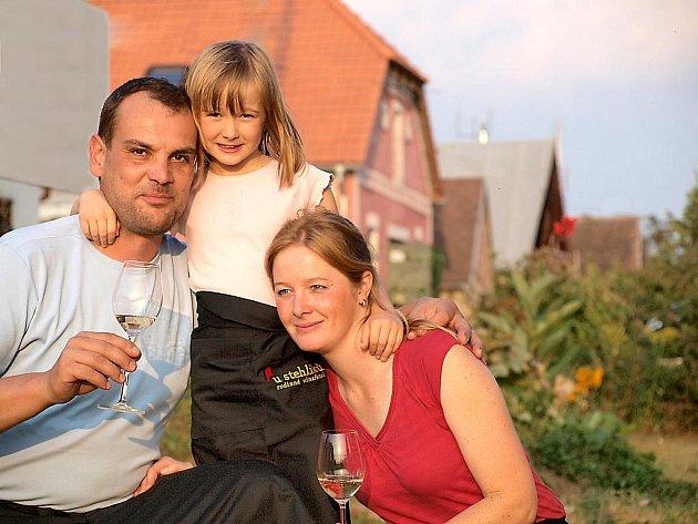 Rodinné vinařství U Stehlíků.