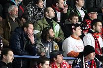 Hokejový veterán Marek Uram se dívá na zápasy Orlů jen z hlediště.