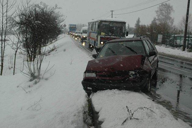 Nehoda na Novoborské silnici