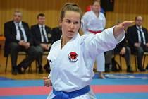 Barbora Znamenáčková patří k současným nadějím českolipského Karate klubu Sport Relax.