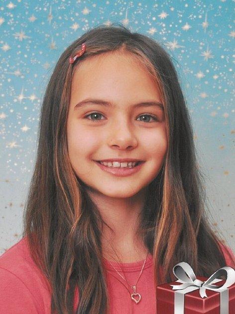 12. Natálie Svobodová - 9let, Česká Lípa.