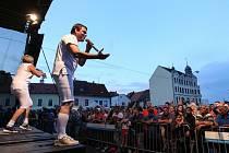 Městské slavnosti nabídly atrakce i muziku.