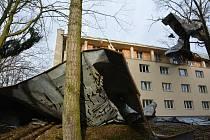 Internát v České Lípě, který přišel o střechu