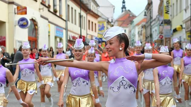 Městské slavnosti v České Lípě, 2013.