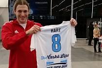 Alex Hart je prostě dobrodruh. Teď se rozhodl hrát florbal za Českou Lípu.