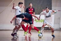 Futsal: Helas Brno - Démoni Česká Lípa 5:4.