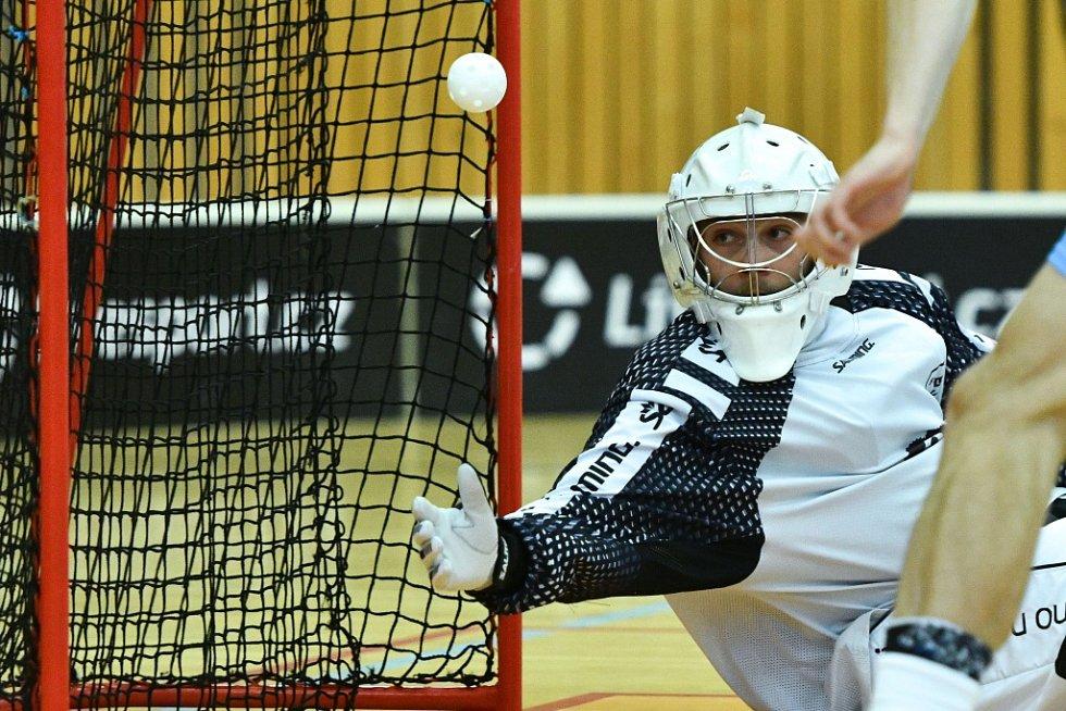 Českolipští florbalisté doma porazili Brno 9:5. Zažili tak vítězné loučení s aktuální sezonou.