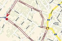 Přímo centrem Nového Boru by měli v sobotu 10. září pochodovat radikálové.