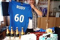 Rudolf Věchet proslul svými fotbalovými statistikami
