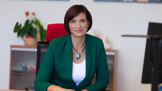 Jitka Volfová, starostka města Česká Lípa.