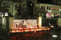 Jedna z oslav svobody a demokracie se ve čtvrtek 17. listopadu odehrála i v České Lípě.