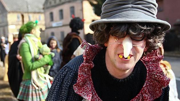 I letos si návštěvníci Vísecké rychty v Kravařích mohli dosyta užít masopustních oslav.