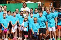 Děti z Děčína a Nového Boru se při tréninku sběračů setkají s legendou Sukovou
