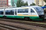Vlak německého dopravce. Ilustrační foto.