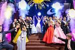 Maturitní ples českolipské Euroškoly.