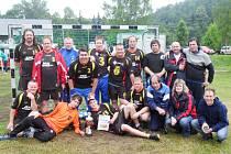 Házenkáři českolipské Lokomotivy na turnaji v Německu