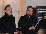 Po křestu rozeznělo prostory kostela Duo Kchun - tenorista Martin Prokeš a barytonista Marek Šulc.