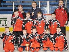 Malí Predátoři vyhráli hokejový turnaj v Kralupech.